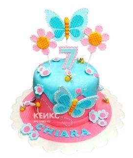 Торт для девочки на 6 лет 15