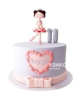 Торт для девочки на 6 лет 16