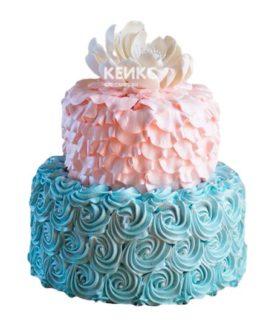 Торт для двойняшек 16