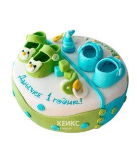 Торт для двойняшек 20