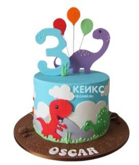 Торт для маленького мальчика 21