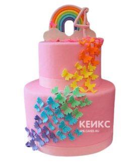 Торт для маленькой девочки 14