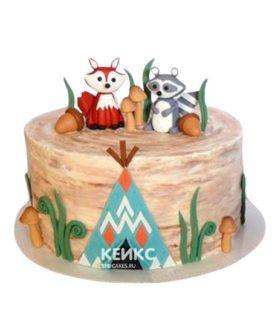 Торт Енот 3