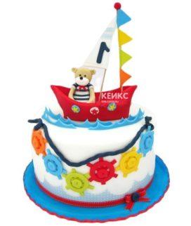 Торт Кораблик 13
