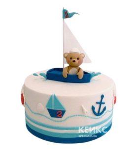 Торт Кораблик 14