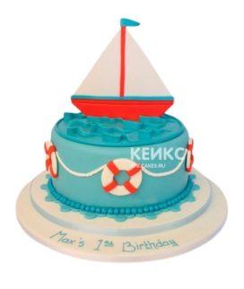 Торт Кораблик 15