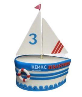 Торт Кораблик 6
