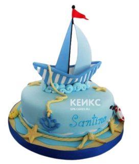 Торт Кораблик 7