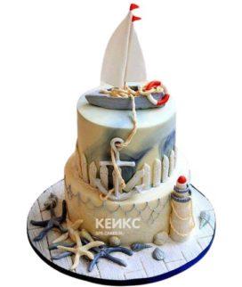 Торт Кораблик 8