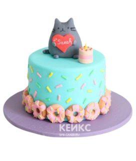 Торт Кошка 12