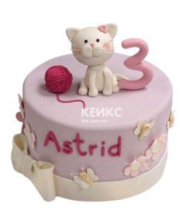 Торт Кошка 15