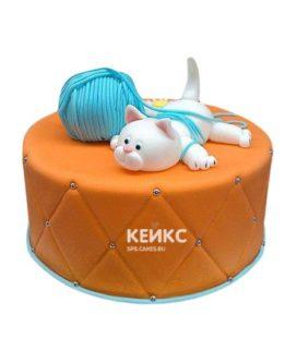 Торт Кошка 4