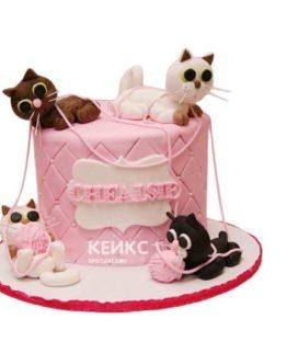 Торт Кошка 5
