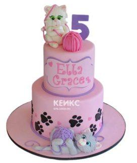Торт Кошка 6