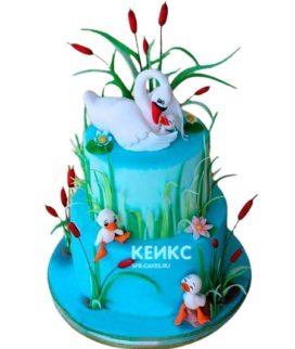 Торт Лебеди 3