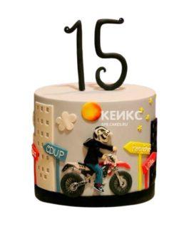 Торт мальчику на 10 лет 10