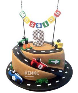 Торт мальчику на 6 лет 6