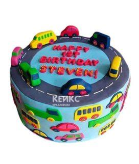 Торт мальчику на 6 лет 8