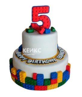 Торт мальчику на 6 лет 11