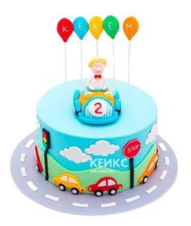 Торт Машинка 9