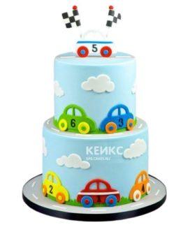 Торт Машинка 10