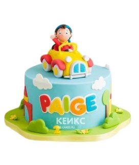 Торт Машинка 12