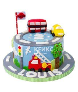 Торт Машинка 14