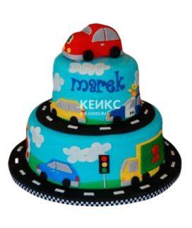 Торт Машинка 16