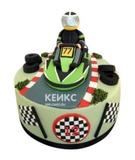 Торт Машинка 18