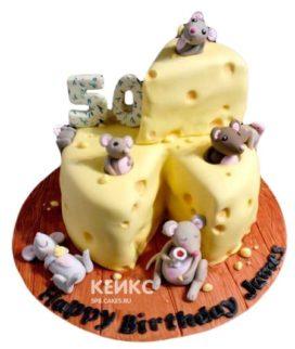 Торт Мышка 7