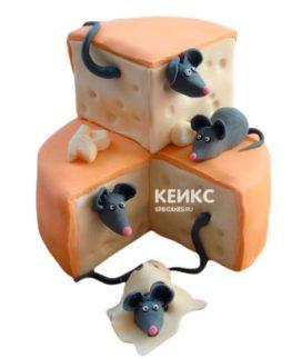 Торт Мышка 8