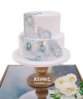 Торт на агатовую свадьбу