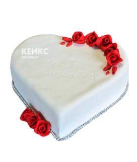 Торт на агатовую свадьбу 3