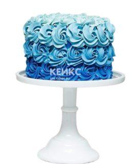 Торт на бирюзовую свадьбу 1