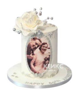 Торт на бриллиантовую свадьбу 1