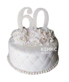 Торт на бриллиантовую свадьбу 2
