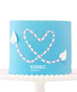 Торт на бумажную свадьбу 2