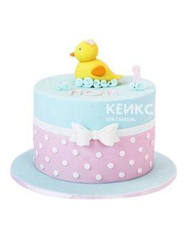 Торт на годик девочке 24