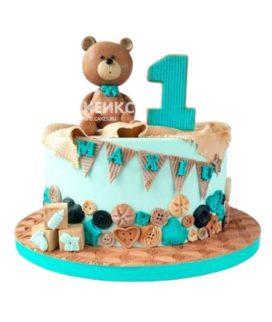 Торт на годик мальчику 25