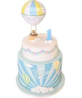 Торт на годик мальчику 29