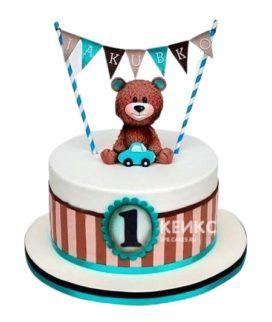 Торт на годик мальчику 30