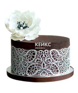 Торт на кружевную свадьбу 2