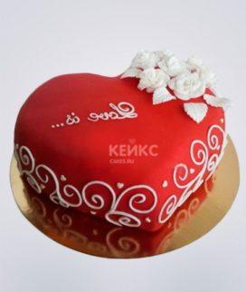 Торт на льняную свадьбу 1
