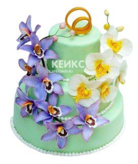 Торт на нефритовую свадьбу 2
