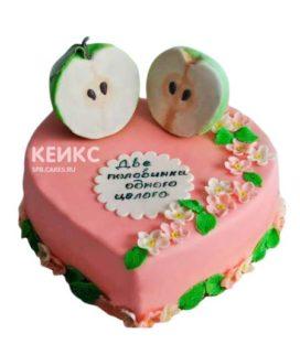 Торт на нефритовую свадьбу