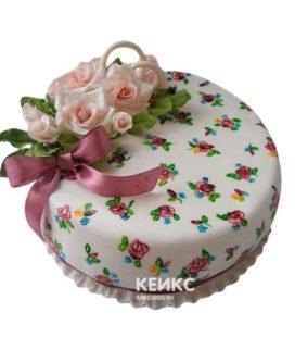 Торт на ситцевую свадьбу 8