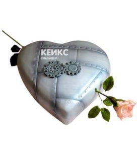 Торт на стальную свадьбу 2