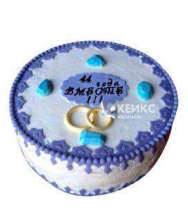 Торт на топазовую свадьбу