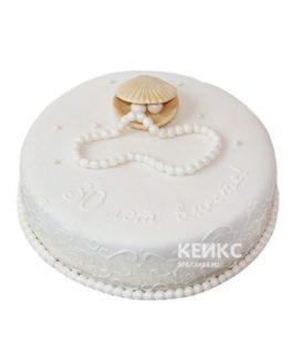 Торт на жемчужную свадьбу 2