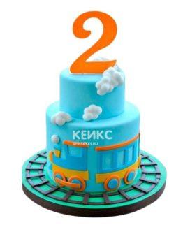 Торт Паровозик 9